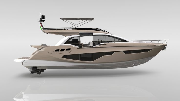 Sessa Announce Gullwing Flybridge