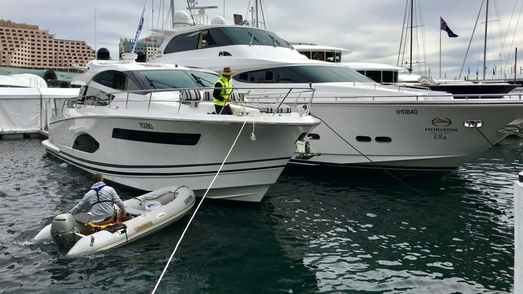 Sydney Boat Show Setup Video 2