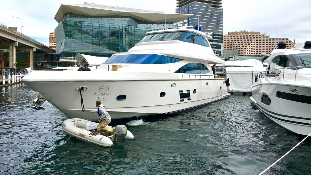 Sydney Boat Show Setup Video 3
