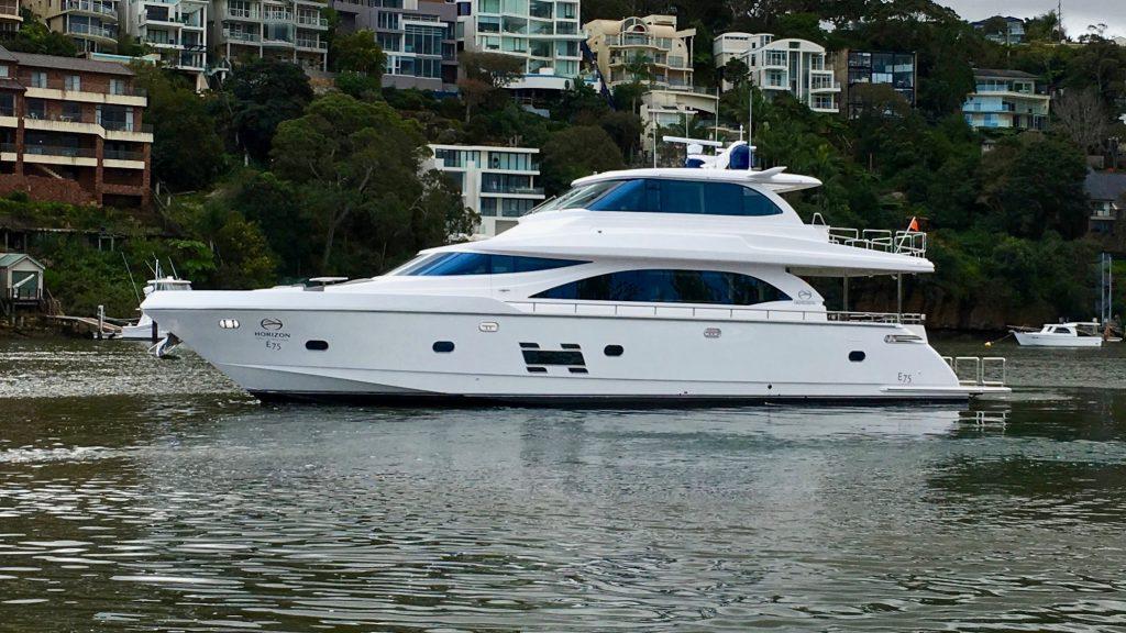Horizon E75 World Debut In Sydney 1