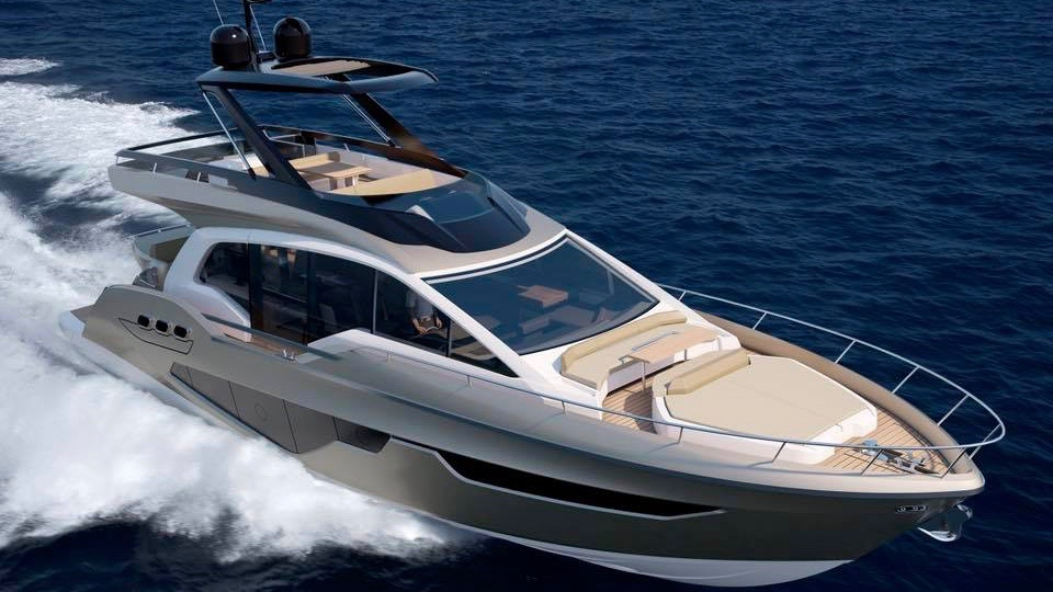 Sessa Announce Gullwing Flybridge 1
