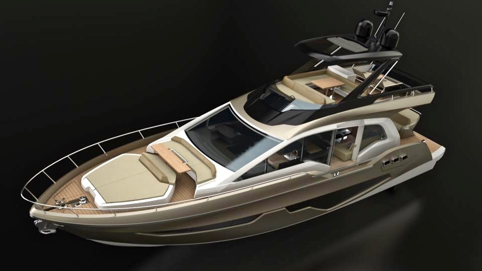 Sessa Announce Gullwing Flybridge 2
