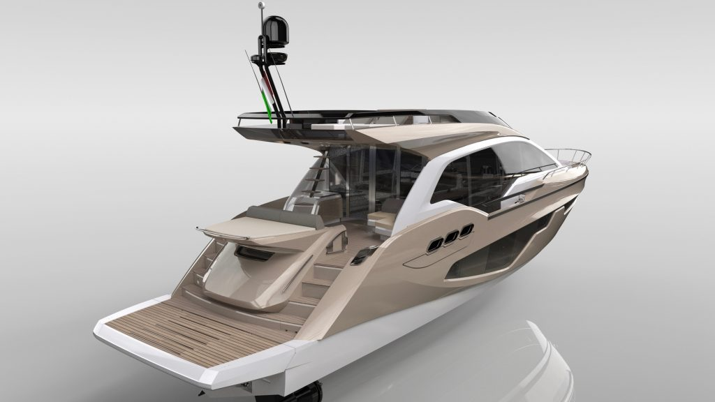 Sessa Announce Gullwing Flybridge 3