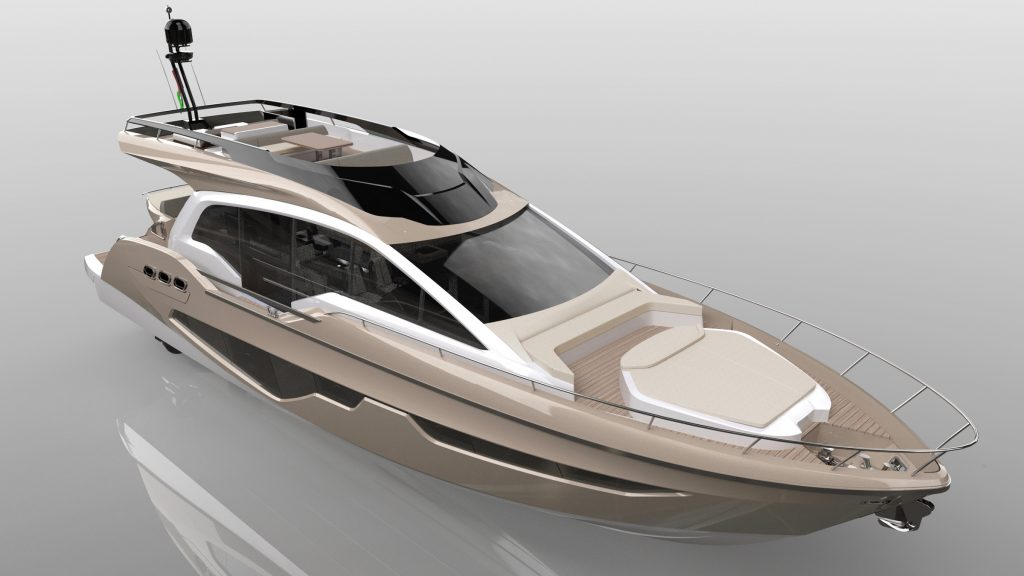 Sessa Announce Gullwing Flybridge 4