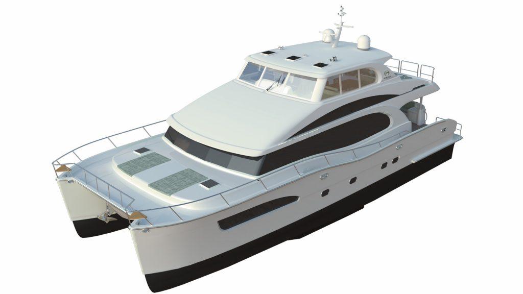 72 Foot Catamaran Excitement 1