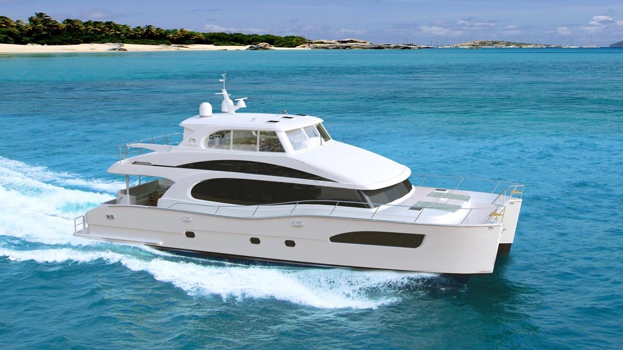 72 Foot Catamaran Excitement Standen Marine