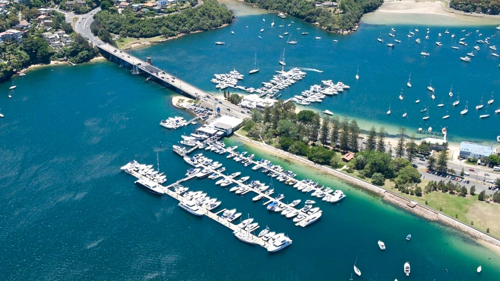 Photo: Aerial Photo of The Spit Marina, Mosman