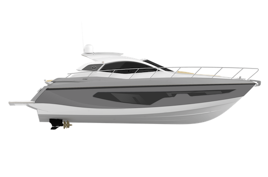 Sessa Marine C44 Hull Profile