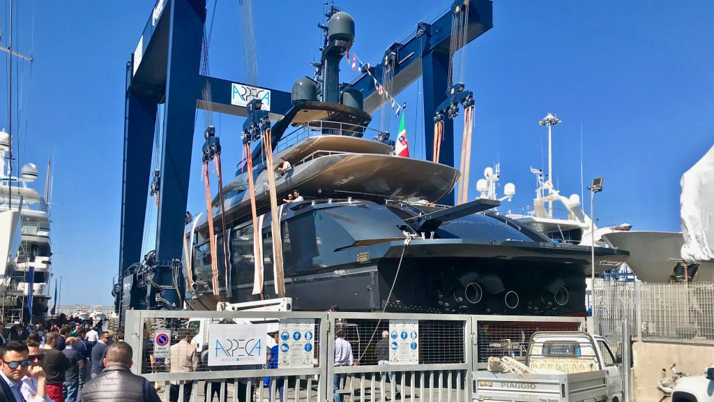Launch of New 49m Rossinavi 1