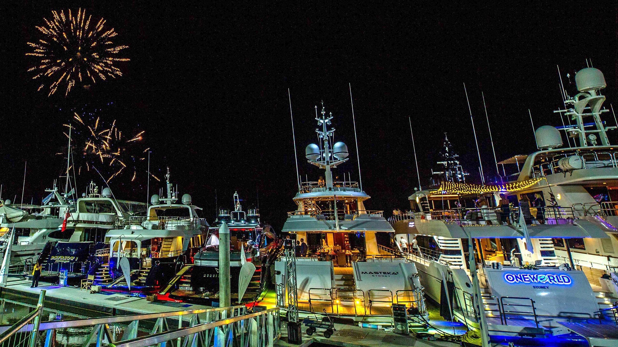 Australian Superyacht Rendezvous Standen Marine