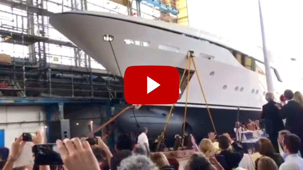 Link to Benetti 50m Launch on YouTube