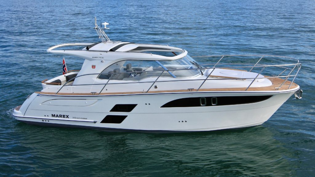 Marex 310 Wins Motor Boat of the Year 2