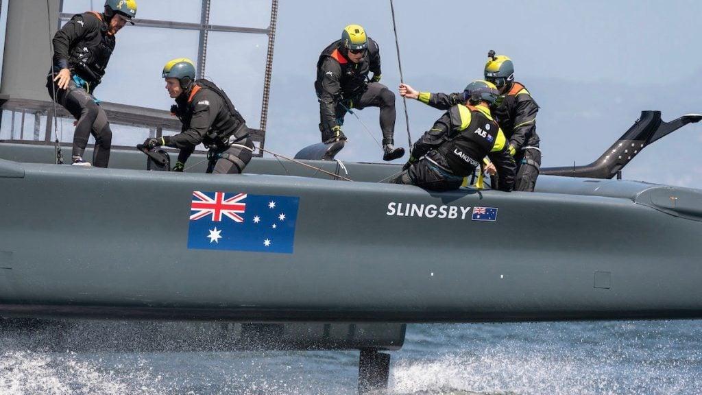 Ribco Powers The Australian SailGP 3