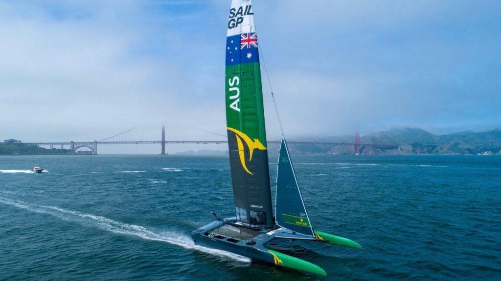 Ribco Powers The Australian SailGP 4