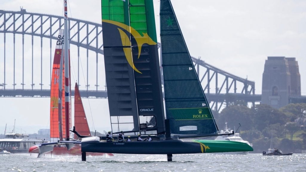 Ribco Powers The Australian SailGP 1