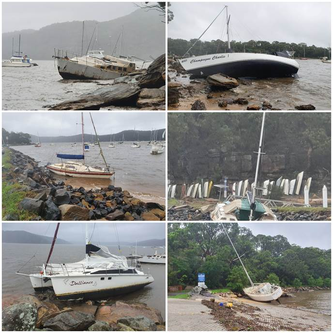 Countless missing navigation markers and hazardous debris in water 3