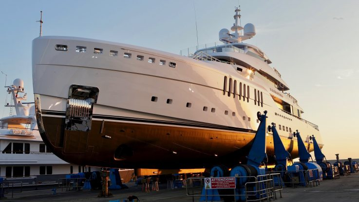 Custom 67m Launched by Benetti
