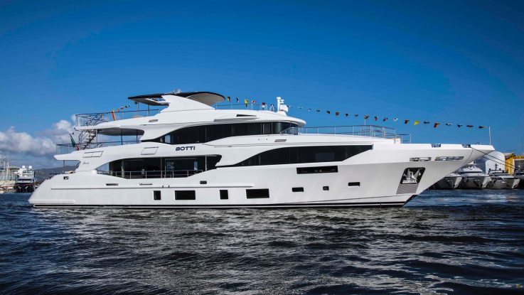 Third Benetti Mediterraneo 116 Delivered