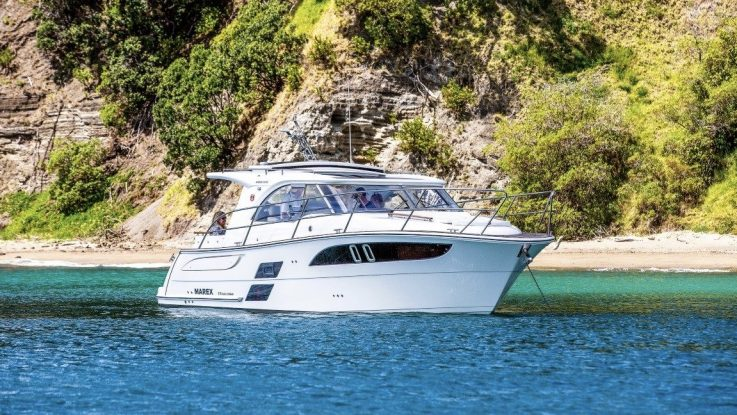 Awesome Marex 310 SC Review By Boating NZ