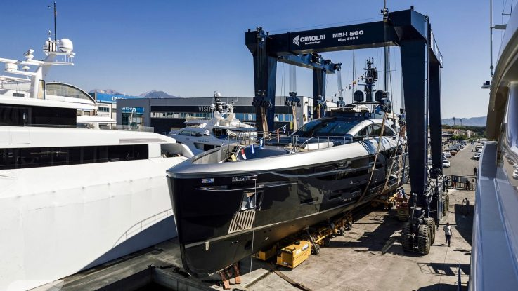 Launch of New 49m Rossinavi