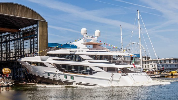 Launch of New 50m Benetti