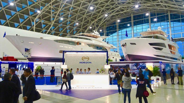 Horizon Dominates Taiwan Boat Show