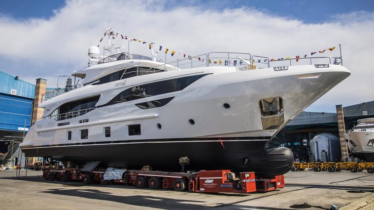 Benetti Launches 3rd Delfino 95